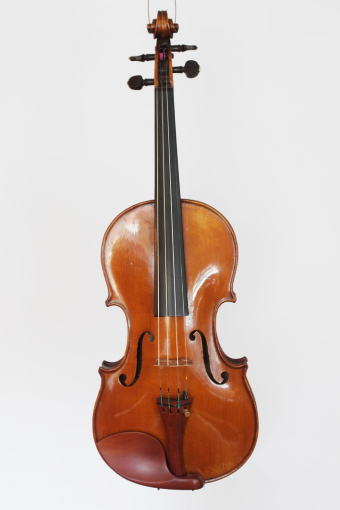 French violin by Georges Contal, dated 1901