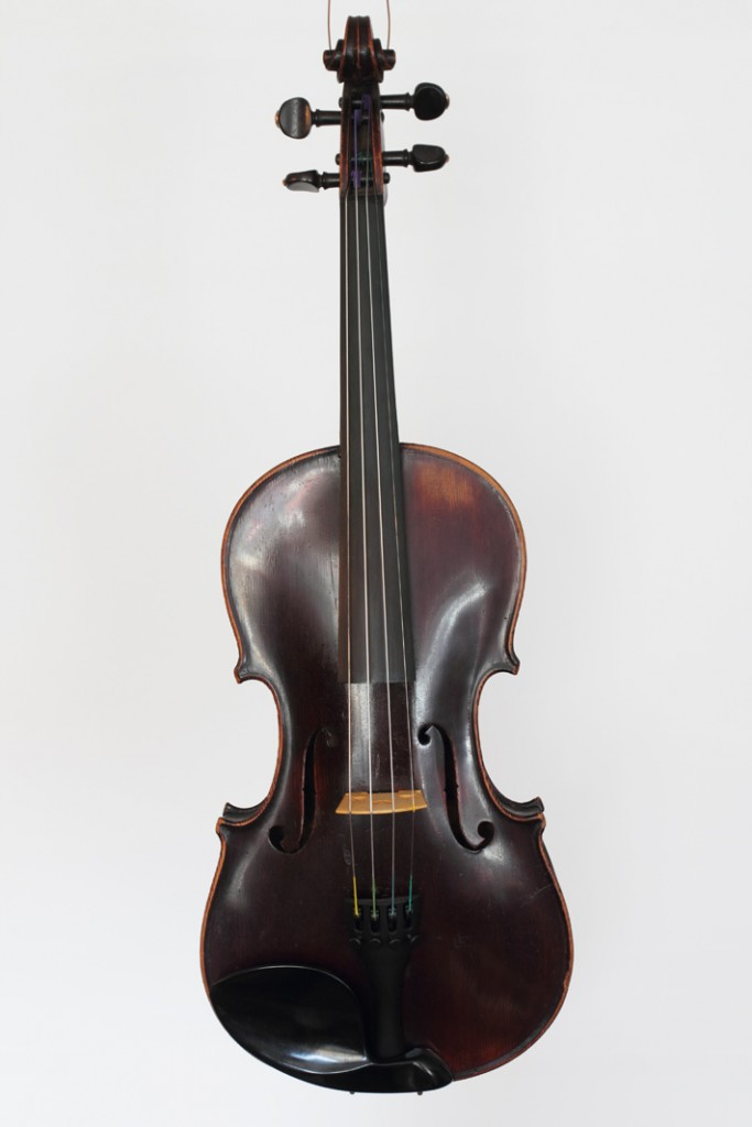 German violin labelled Andreas Renisto, dated 1927