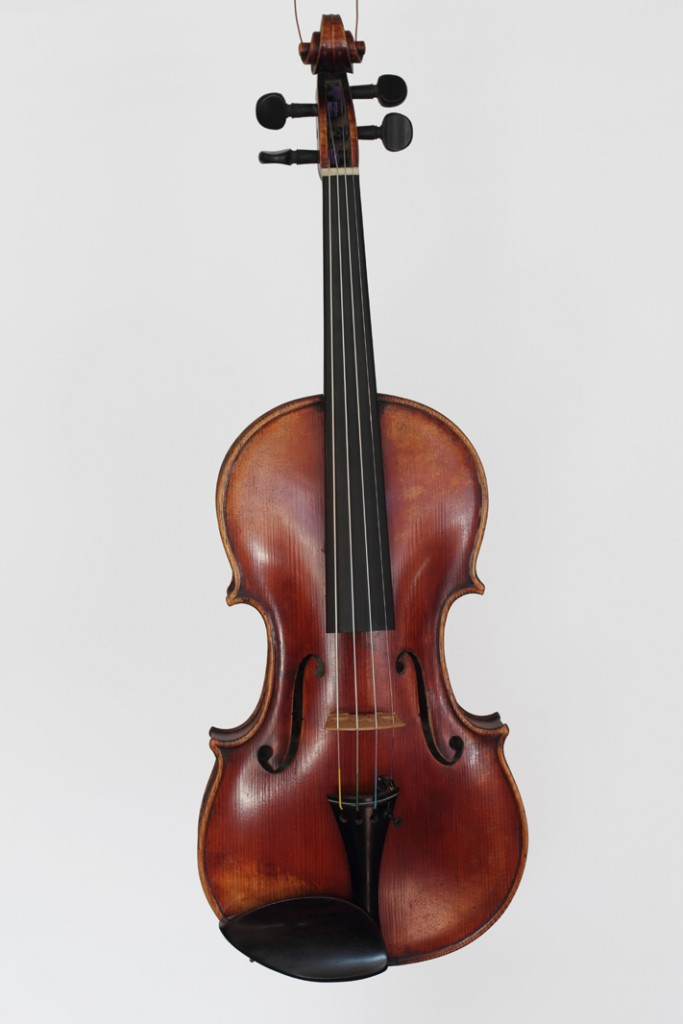 Victor Joseph Charotte violin, dated 1926
