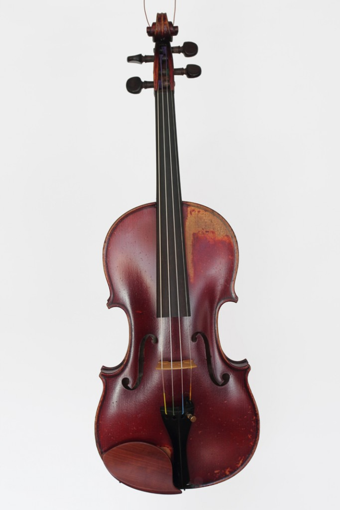 French violin by Paul Serdet, dated 1903